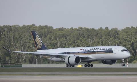 Στη Νέα Υόρκη το αεροπλάνο που πραγματοποίησε τη μεγαλύτερη πτήση στον κόσμο! (pics)