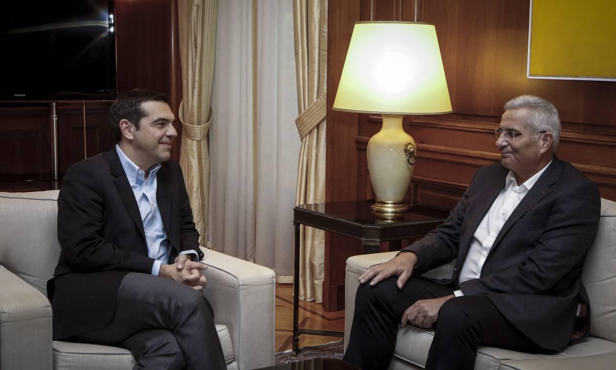 Συνάντηση Τσίπρα - Κυπριανού: Αυτός είναι ο δρόμος για την επίλυση του Κυπριακού