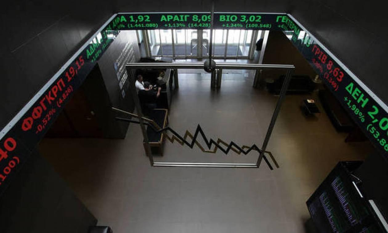 Χρηματιστήριο: Με πτώση έκλεισε ο τραπεζικός δείκτης