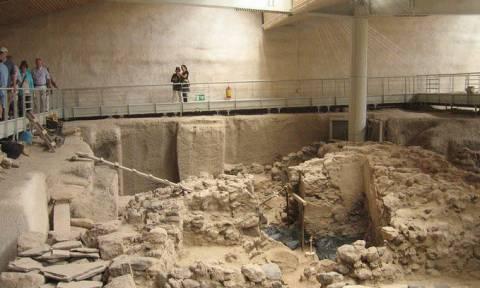 Νέα σημαντικά αρχαιολογικά ευρήματα στο Ακρωτήρι της Σαντορίνης