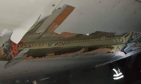 Βίντεο - ΣΟΚ! Αεροσκάφος χτύπησε σε τοίχο κατά την απογείωσή του και η πτήση συνεχίστηκε!