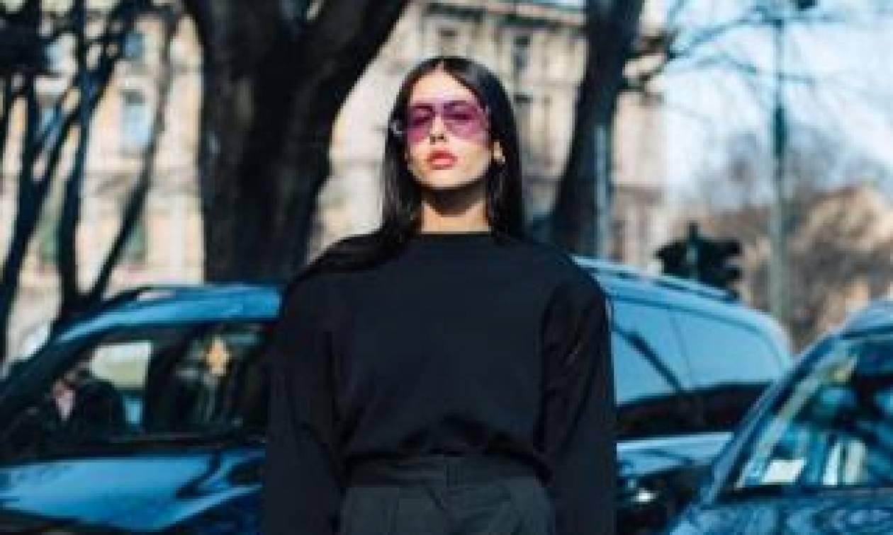 Οκτώ looks που αποδεικνύουν την αξία ενός total black outfit