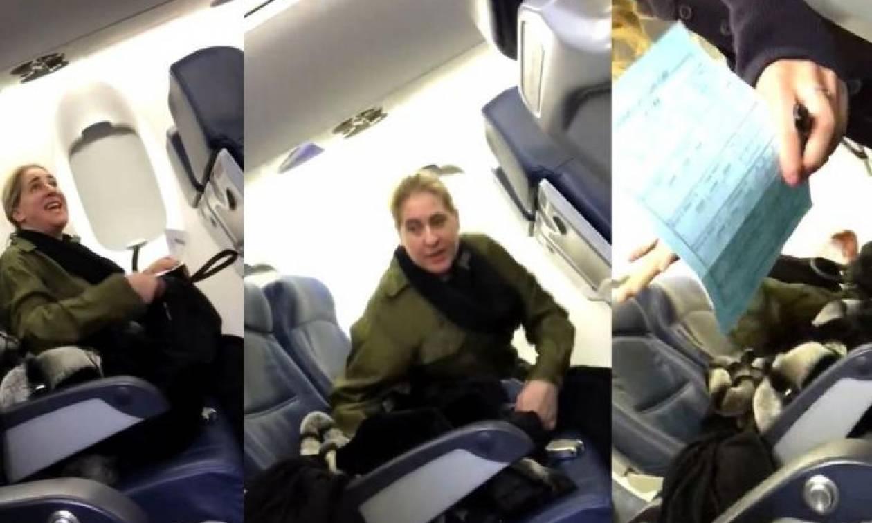 Κατέβασαν γυναίκα από το αεροπλάνο επειδή αρνήθηκε να καθίσει δίπλα σε μαμά με μωρό που έκλαιγε