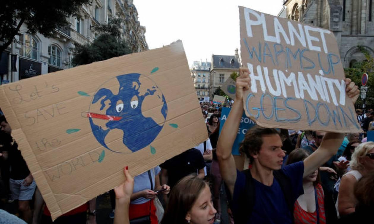 «Ψήνεται» η Γαλλία - Νέες θερμοκρασίες ρεκόρ