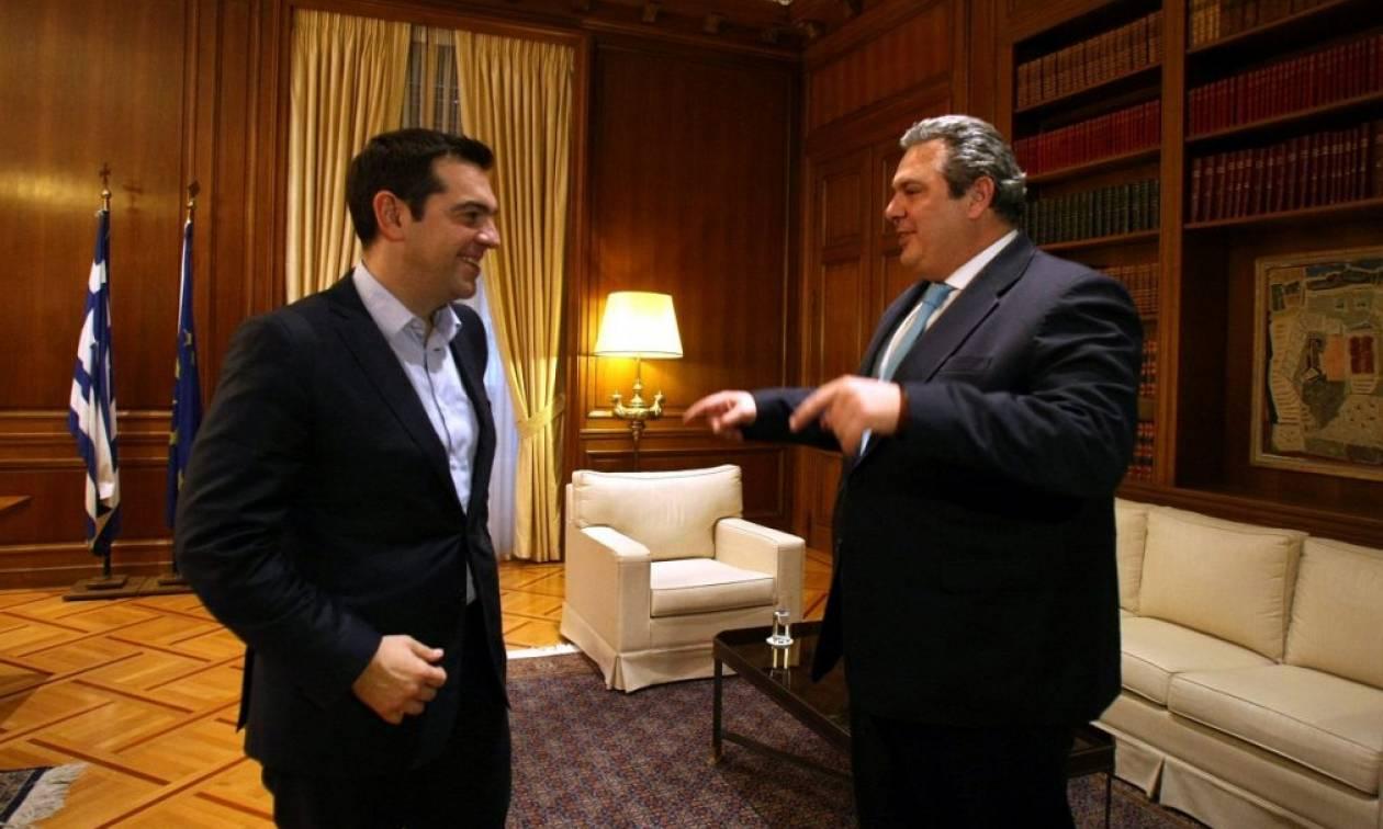 Τσίπρας σε Καμμένο: Σε «καλύπτω» κόντρα σε όλο τον ΣΥΡΙΖΑ