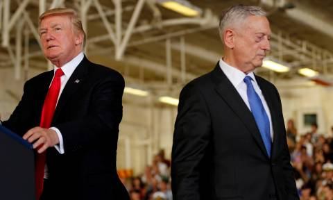 Δεν αντέχουν την πίεση: Μετά την Νίκι Χέιλι παραιτείται και ο υπουργός Άμυνας Τζέιμς Μάτις;
