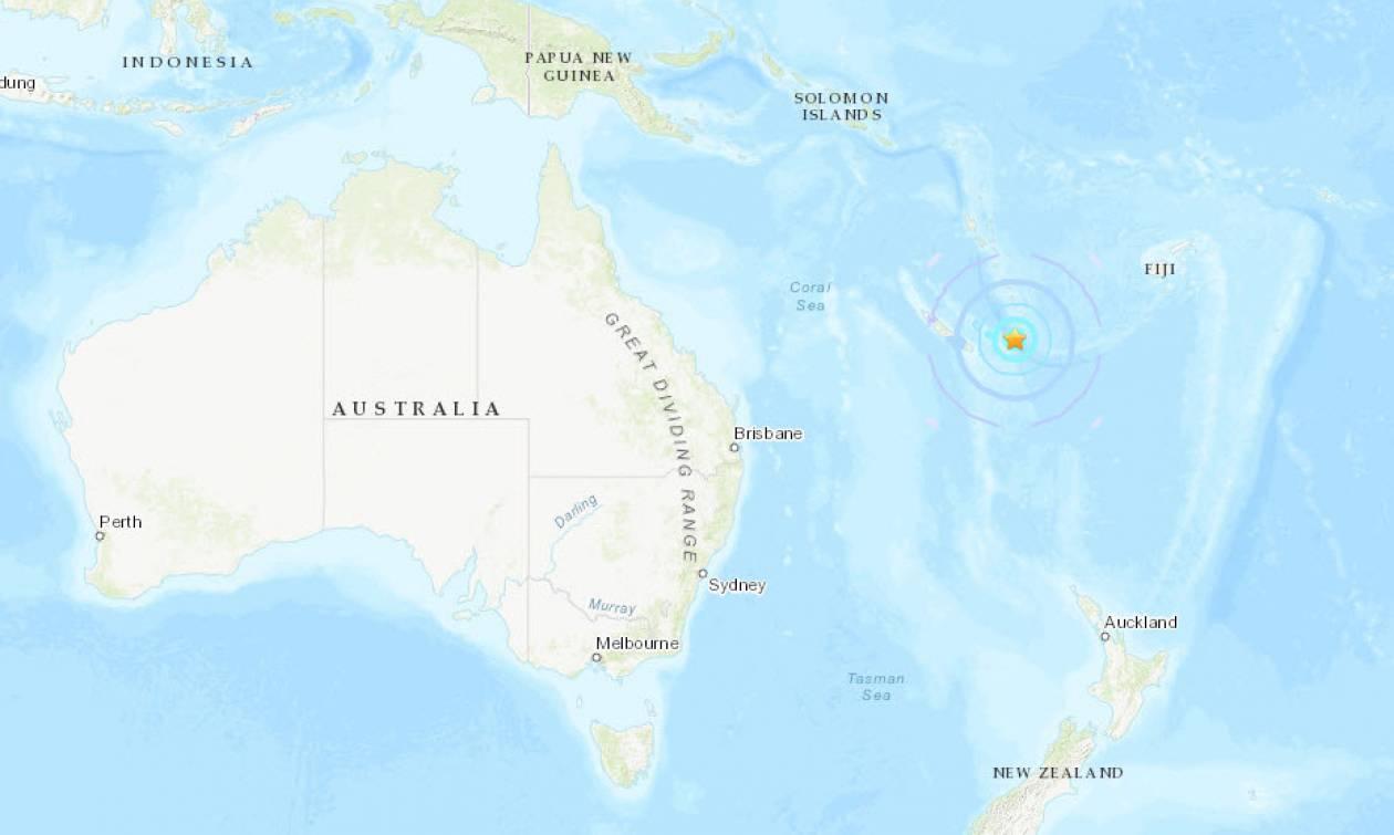 Ισχυροί σεισμοί συγκλόνισαν τη Νέα Καληδονία