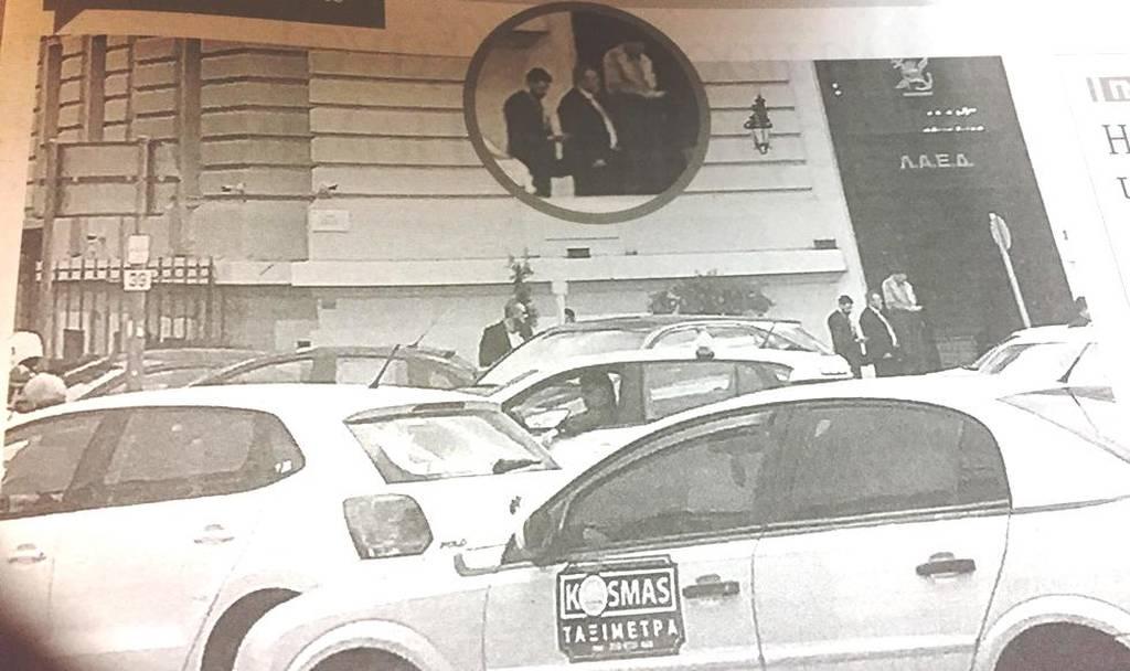 Μυστική συνάντηση Τσίπρα - Καμμένου για την κοινή τους πορεία (φωτογραφία εφημεριδα Τα Νέα)