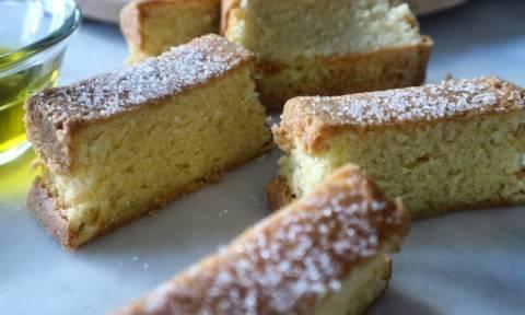 Η συνταγή της ημέρας: Κέικ Λαδιού (Olive Cake)