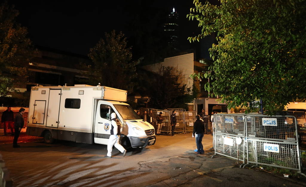 Υπόθεση Κασόγκι: Χαράματα έφυγαν από το σαουδαραβικό προξενείο οι Τούρκοι αστυνομικοί (pics)