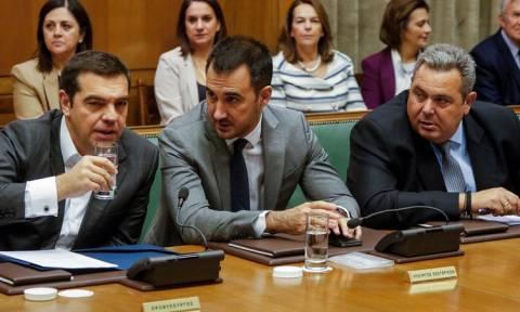 Συνεδριάζει κεκλεισμένων των θυρών το Υπουργικό Συμβούλιο υπό τον Τσίπρα