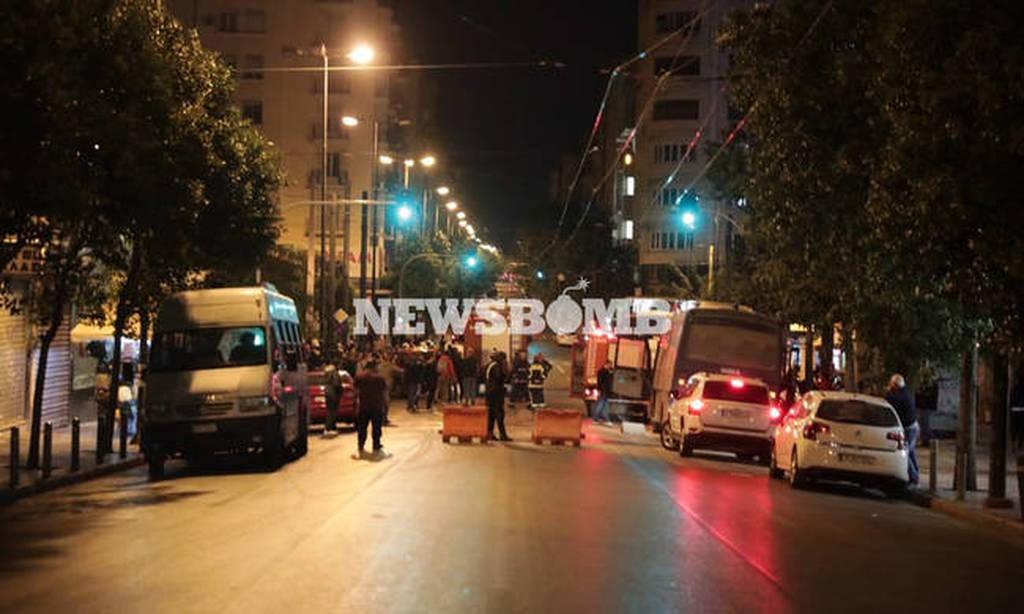 Αποδοκίμασαν τη Γεροβασίλη στο Αστυνομικό Τμήμα Ομονοίας