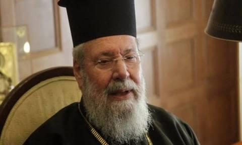 Σήμερα (16/10) χειρουργείται ο Αρχιεπίσκοπος Κύπρου στο Λονδίνο