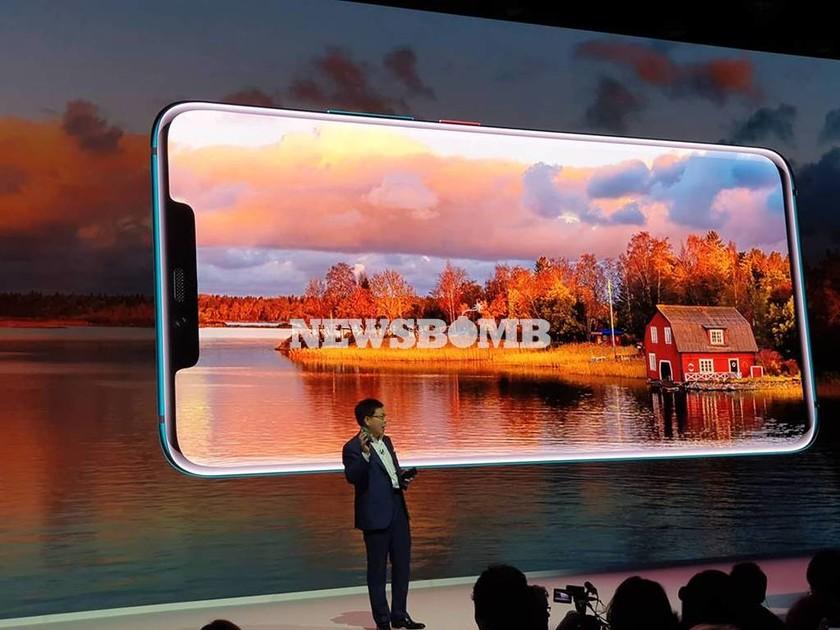 Το Huawei Mate 20 Pro ξεκλειδώνει… πατώντας την οθόνη του (pics)