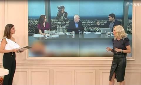 Μπάγια Αντωνοπούλου: Τέλος από την εκπομπή του Γιώργου Παπαδάκη