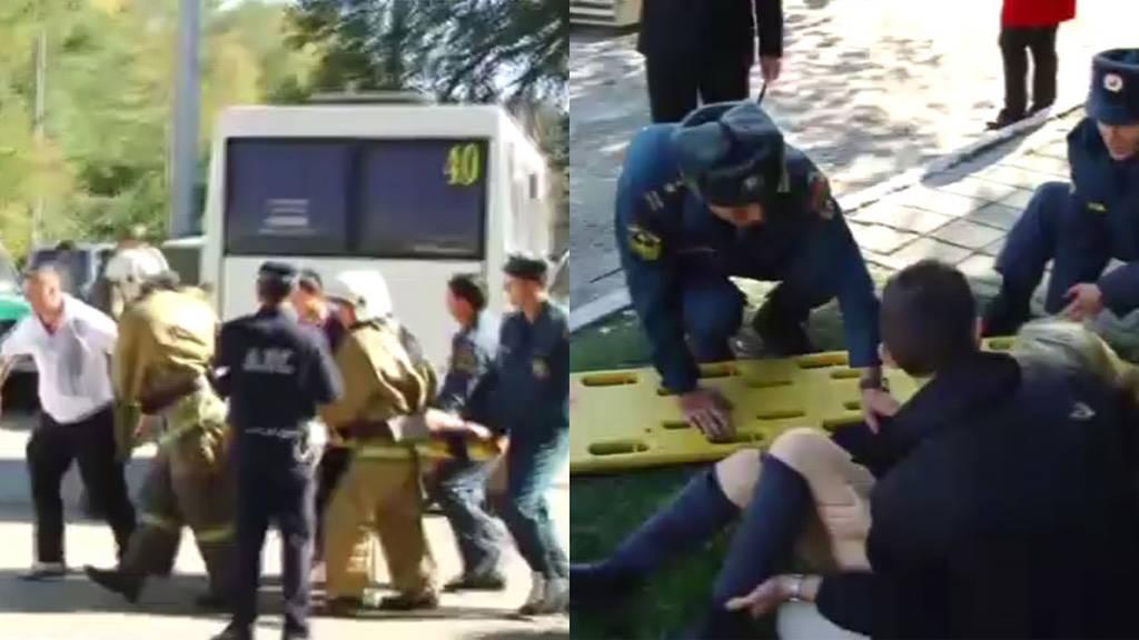 «Βλέπαμε πτώματα παντού»: Αυτός είναι δράστης του μακελειού στο κολέγιο της Κριμαίας (Vid)