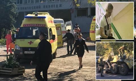 Επίθεση Κριμαία: Καταιγισμός πυροβολισμών, εκρήξεις και διαμελισμένα σώματα – Στους 19 οι νεκροί