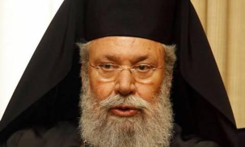 Επιτυχής η επέμβαση του Αρχιεπισκόπου Κύπρου στο Λονδίνο