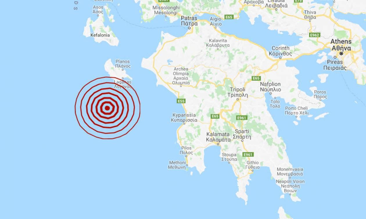 Σεισμός κοντά στη Ζάκυνθο - Αισθητός σε αρκετές περιοχές (pics)