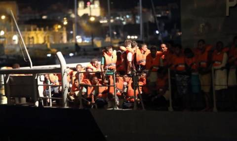 Μετά την άρνηση της Ιταλίας, η Μάλτα αποφάσισε να υποδεχθεί 44 μετανάστες