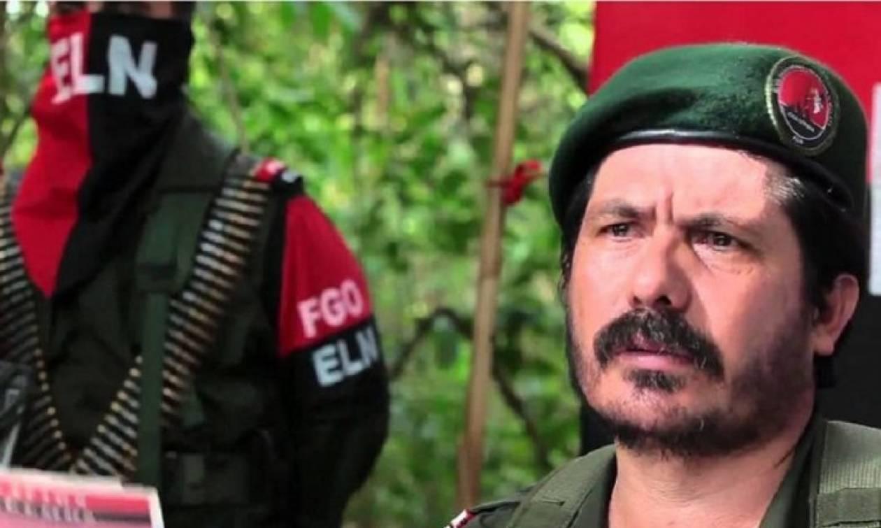 Διεθνές ένταλμα σύλληψης από την Interpol για ηγετικό στέλεχος του ELN