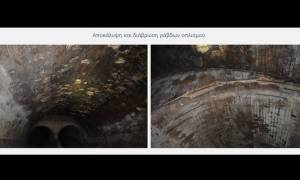 Ιλισός: Οι επικίνδυνες διαβρώσεις στην υπόγεια κοίτη του ποταμού