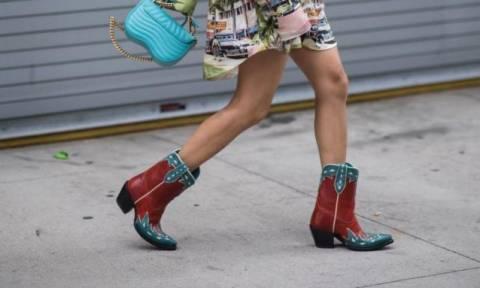 Πώς να φορέσεις τα cow boots αυτή τη σεζόν