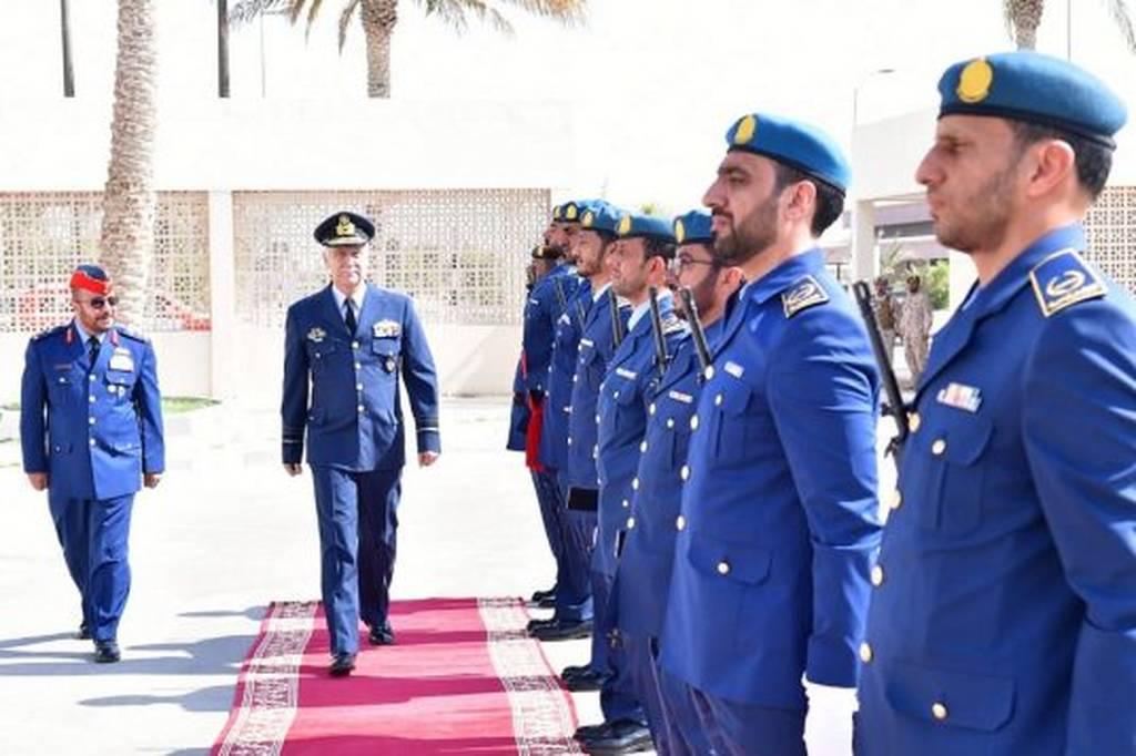 Επίσκεψη του Αρχηγού ΓΕΑ στα Ηνωμένα Αραβικά Εμιράτα (pics)
