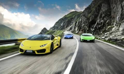Δέος και ομορφιά: Γέμισαν με Lamborghini οι δρόμοι της Ρουμανίας! (pics)