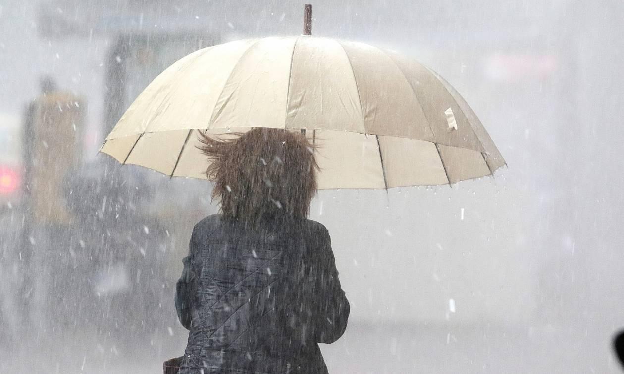 Έκτακτο δελτίο επιδείνωσης του καιρού - ΕΜΥ: Έρχονται ισχυρές καταιγίδες, χιόνια και χαλαζοπτώσεις