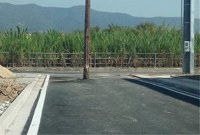Απίστευτη εικόνα στο Μεσολόγγι: Δεν φαντάζεστε τι εμφανίστηκε στη μέση του δρόμου! (pic)