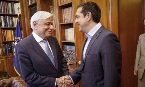 Ορκίστηκε ο Τσίπρας νέος ΥΠΕΞ ενώπιον του Προέδρου της Δημοκρατίας Προκόπη Παυλόπουλου
