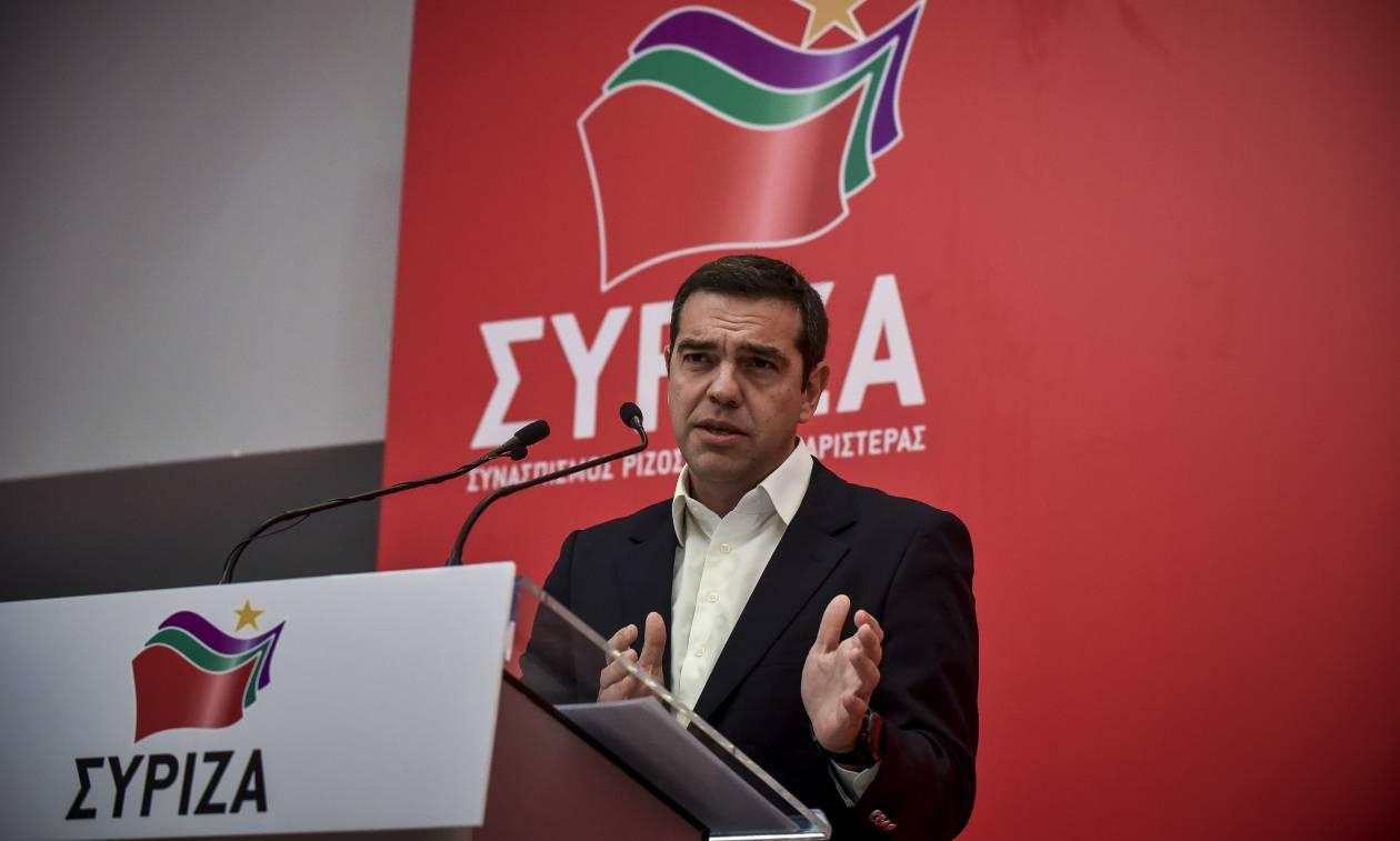 Συνεδριάζει η Πολιτική Γραμματεία του ΣΥΡΙΖΑ υπό τον Τσίπρα