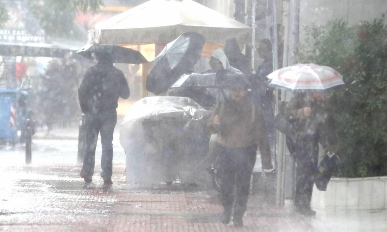 Έκτακτο δελτίο επιδείνωσης του καιρού - ΕΜΥ: Έρχονται βροχές, καταιγίδες και θυελλώδεις άνεμοι