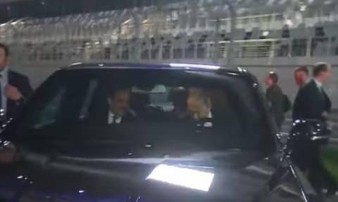 Ο Πούτιν έβγαλε βόλτα το «θηρίο» του σε πίστα της Formula 1 (vid)