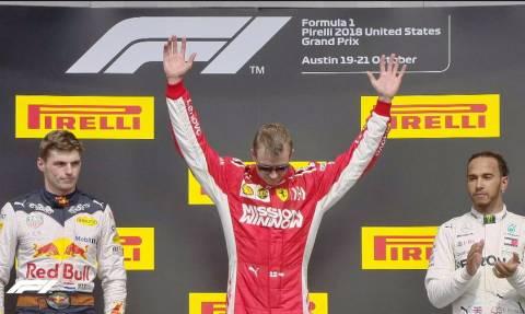 Formula 1: Νικητής στο Όστιν ο Ράικονεν - Πήρε παράταση η «στέψη» του Χάμιλτον (pics&vid)