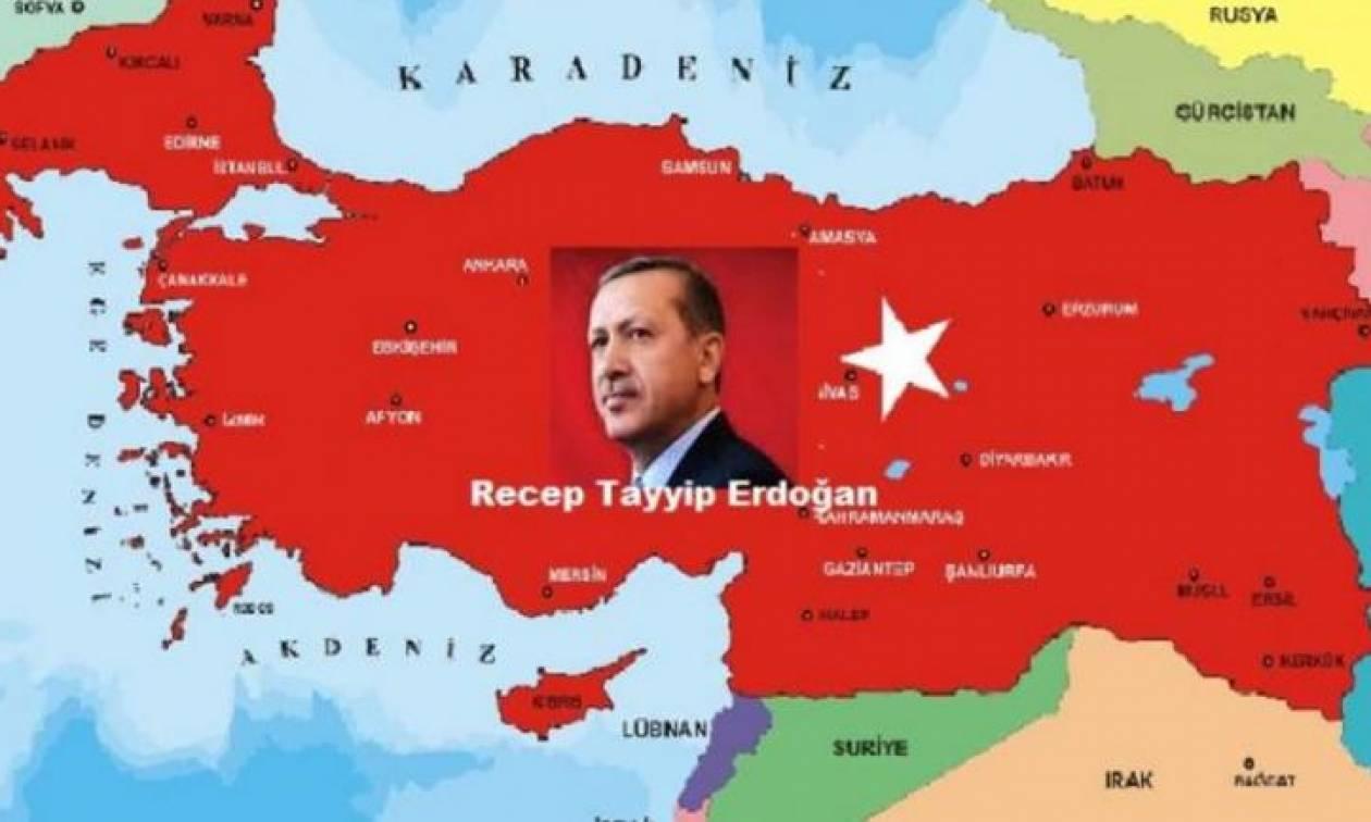 Ονειρεύεται ο Ερντογάν: «Το ιδεώδες της μεγάλης Τουρκίας στη Μεσόγειο πρέπει να τεθεί σε ισχύ»