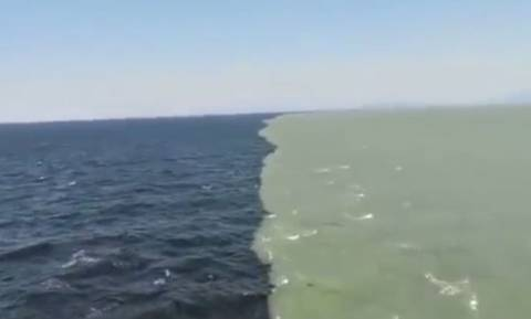Εντυπωσιακό βίντεο: Ειρηνικός και Ατλαντικός ωκεανός συναντιούνται!
