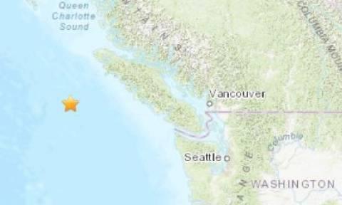 Αλλεπάλληλες ισχυρές σεισμικές δονήσεις στον Καναδά
