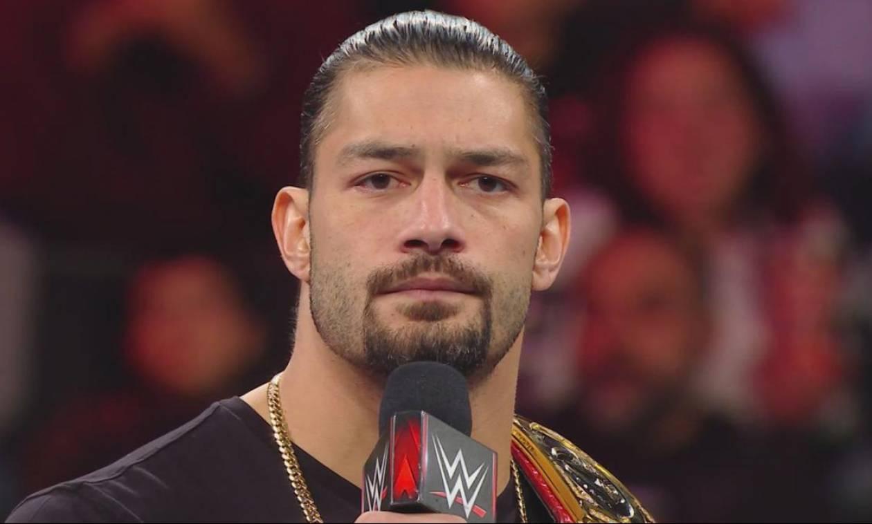 Σοκ στο WWE: O Ρόμαν Ρέινς πάσχει από λευχαιμία και αποσύρεται από τα ρινγκ (pics&vid)