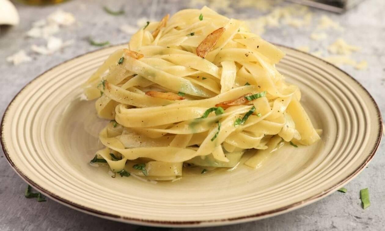 Η συνταγή της ημέρας: Ταλιατέλες aglio e olio