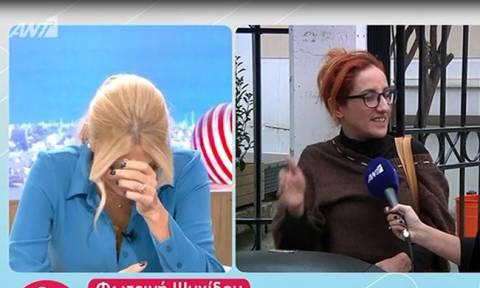 Φωτεινή Ψυχίδου: Η ατάκα για τον Κοργιαλά στο Nomads, που έκανε τη Σκορδά να ξεκαρδιστεί στα γέλια