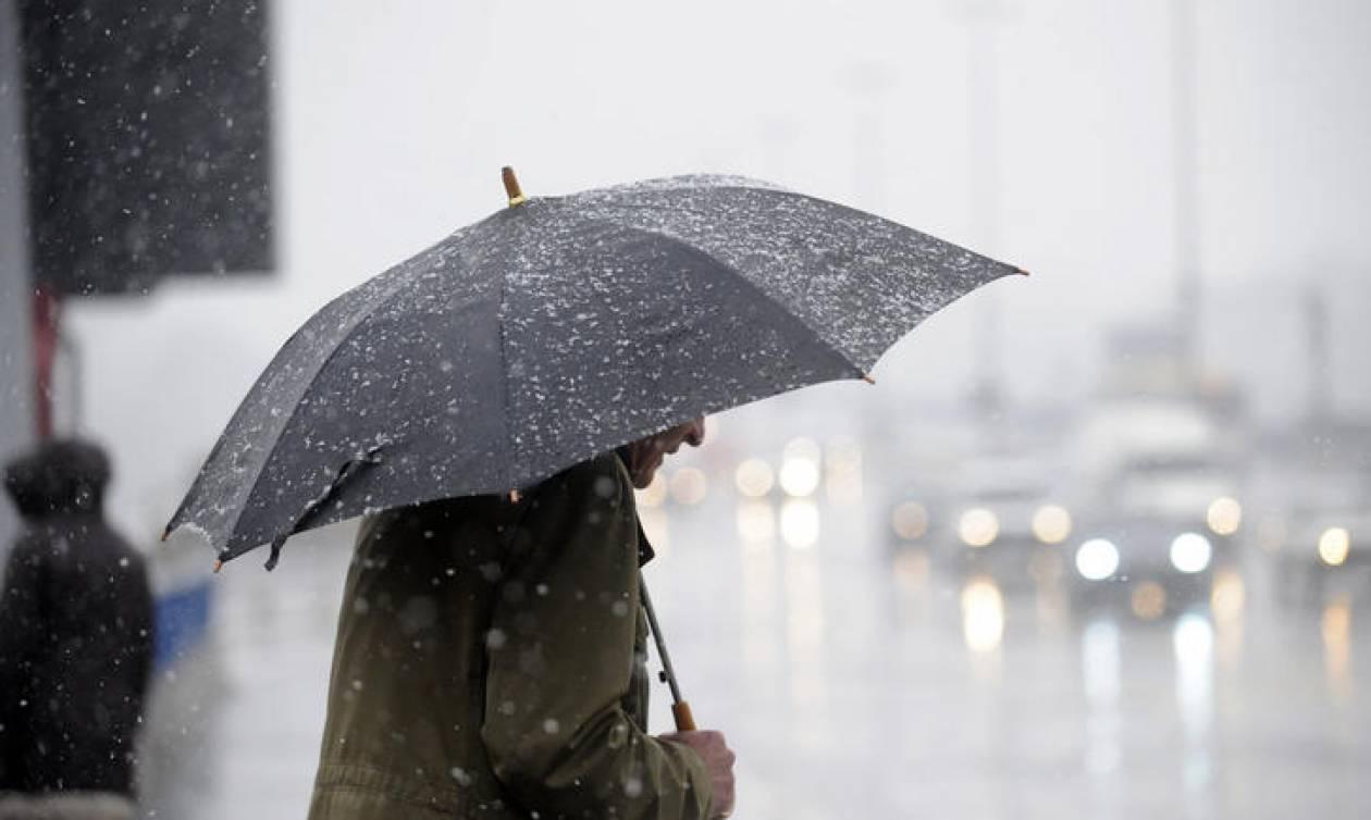 Καιρός: Κακοκαιρίας συνέχεια την Τετάρτη (24/10) με βροχές και καταιγίδες