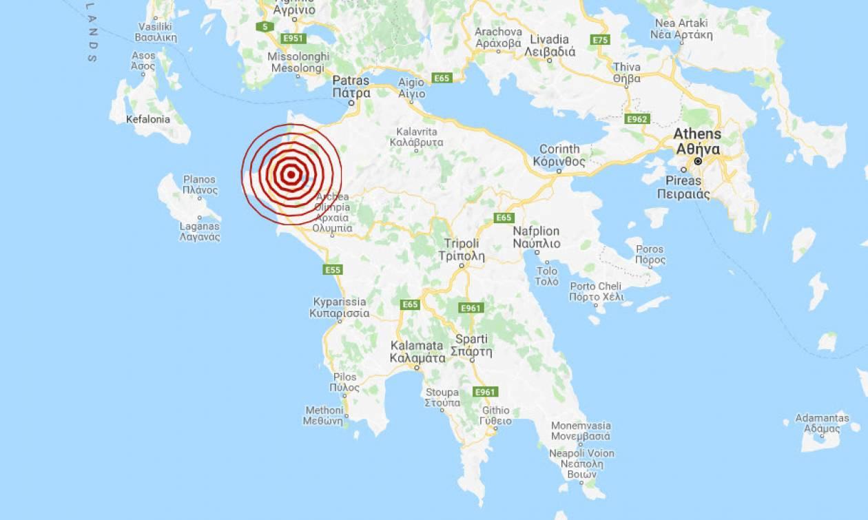 Σεισμός κοντά στην Ανδραβίδα (pics)