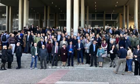Διαμαρτυρία των πρυτανικών αρχών για την παρουσία του Ρουβίκωνα στη Φιλοσοφική