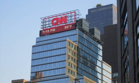 Συναγερμός στις ΗΠΑ: Εκκενώθηκαν τα κεντρικά γραφεία του CNN λόγω βόμβας