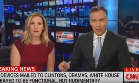 CNN: H στιγμή που δίνεται η εντολή εκκένωσης on air – Σαστισμένοι οι παρουσιαστές (vid)