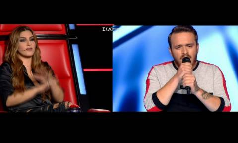 The Voice: Συγκίνηση στο πλατό! Αφιέρωσε το τραγούδι στο κορίτσι του, που έχει «φύγει» από τη ζωή