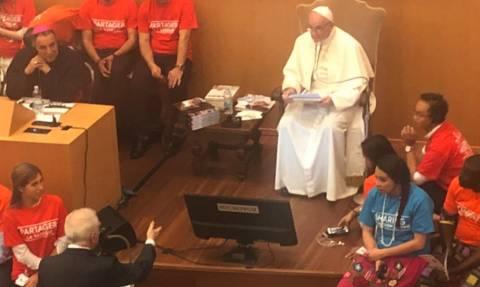 Όταν ο Μάρτιν Σκορτσέζε τα... είπε με τον Πάπα Φραγκίσκο για τον Χίτλερ (vid)