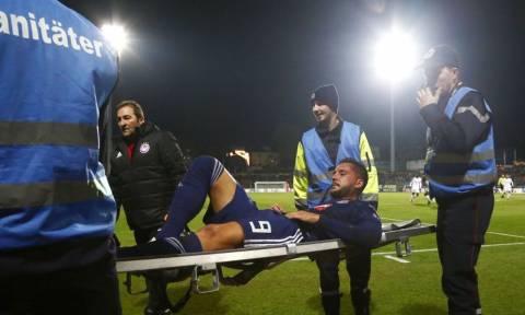 7dfebb2ce13 Ντουντελάνζ – Ολυμπιακός: Ο άσχημος τραυματισμός του Γκερέρο (video)